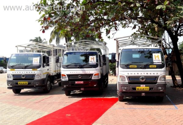 BharatBenz MD IN-POWER 1214R series trucks