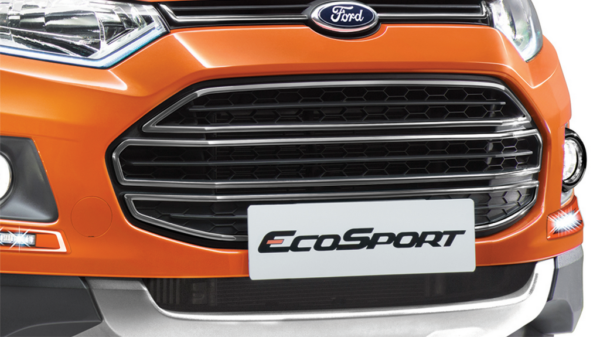 EcoSport Signature Edition Black-Grille
