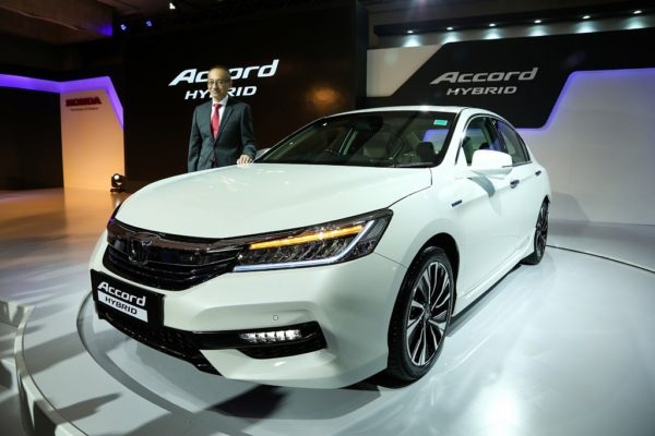 Honda Launches Accord Hybrid In India Priced At Rs 37 Lakhs Ex