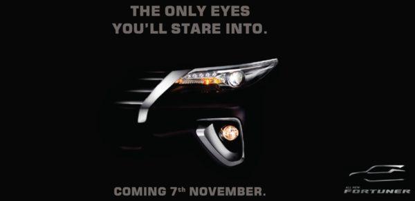 All new Toyota Fortuner Teaser