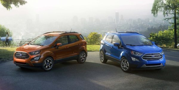 Ford EcoSport facelift 2