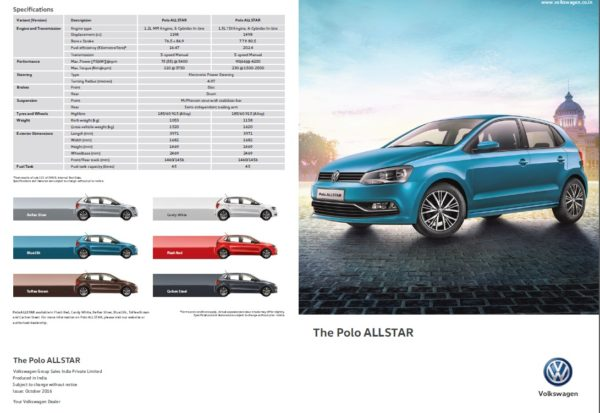 Polo ALLSTAR brochure 1