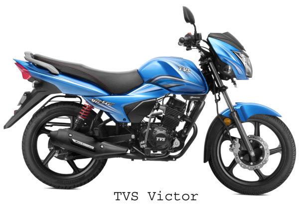 TVS Victor 1 lakh Sales Milestone