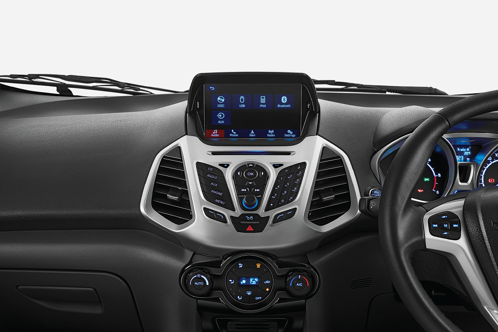 07 Ford EcoSport Platinum Edition – New 8-inch Infotainment System