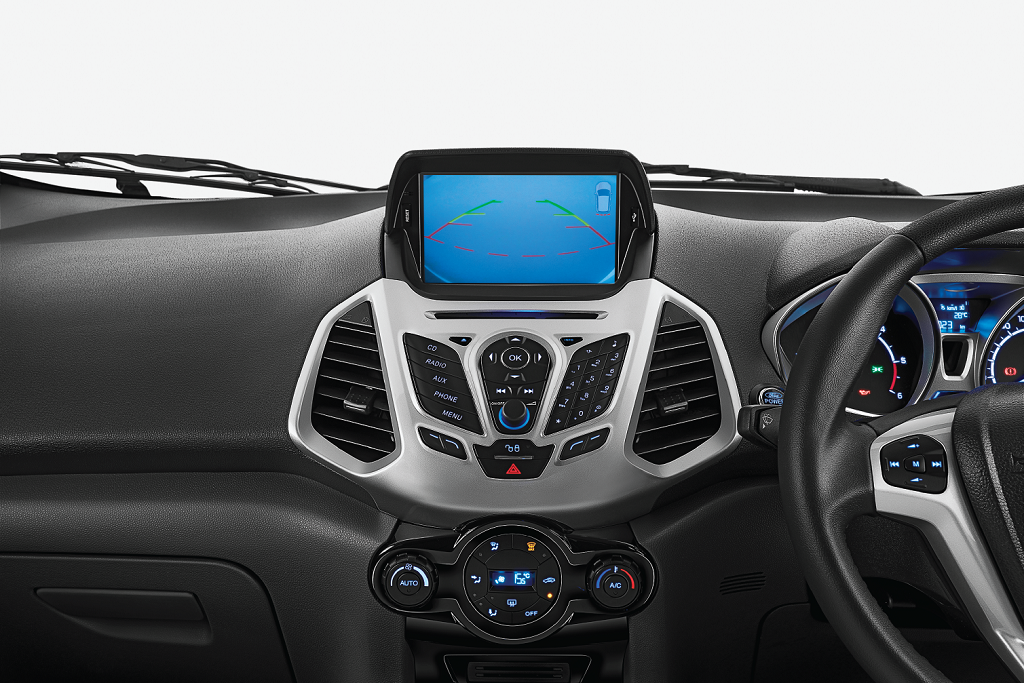 12 Ford EcoSport Platinum Edition – Rear View Camera
