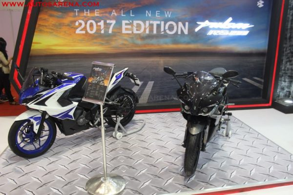 Bajaj 2017 Pulsar RS 200 BS4 variants with new colors