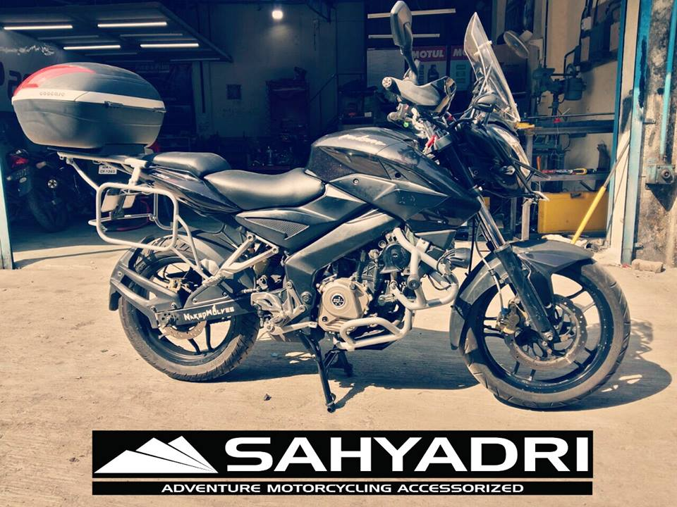 City To City Mileage >> Dominate adventure - Sahyadri launches Dominar 400 Adventure touring kit