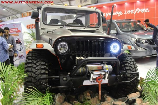 Mahindra Thar Daybreak Edition Costs Rs 21 Lakhs Showcased At Aps