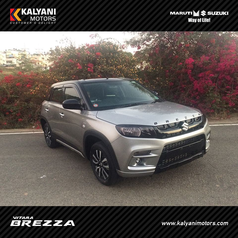 Kalyani Motors Introduced Vitara Brezza Limited Edition