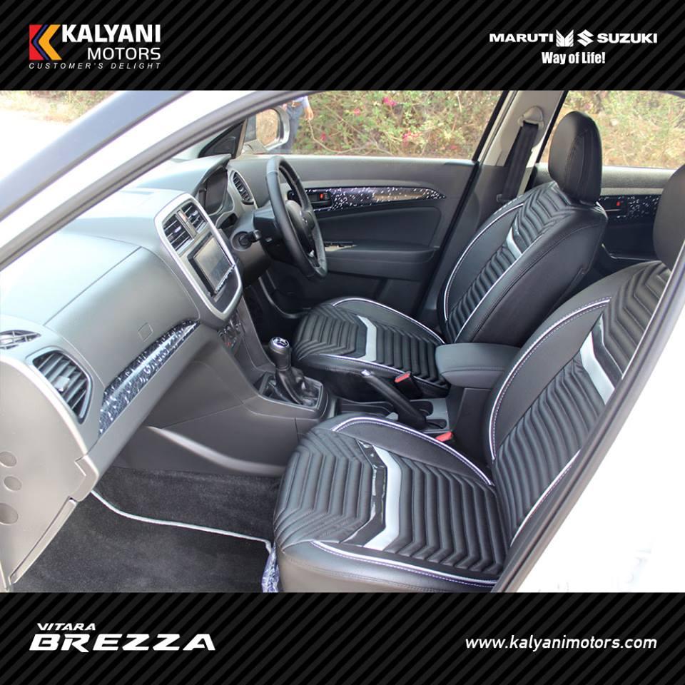 kalyani motors introduced vitara brezza limited edition. Black Bedroom Furniture Sets. Home Design Ideas