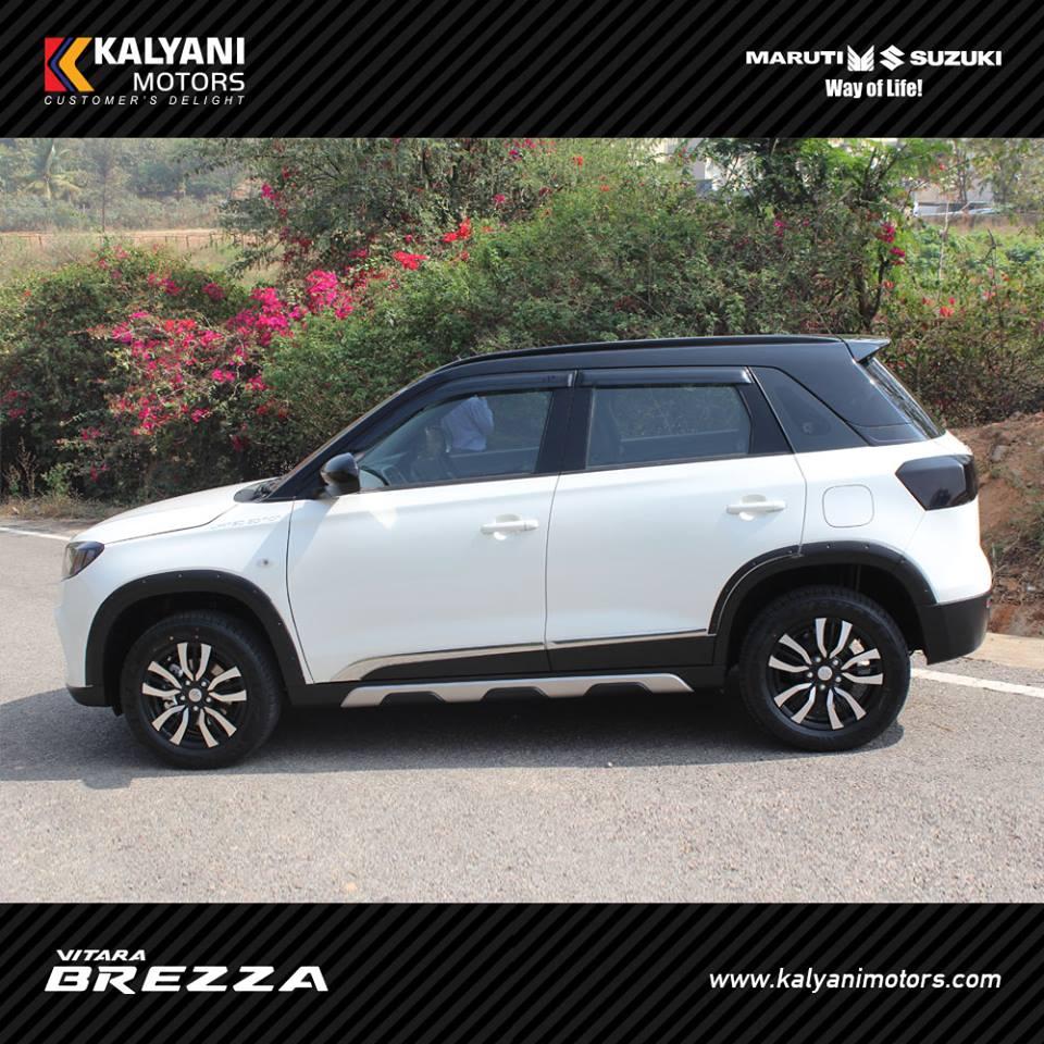 Kalyani Motors Introduced Vitara Brezza Limited Edition