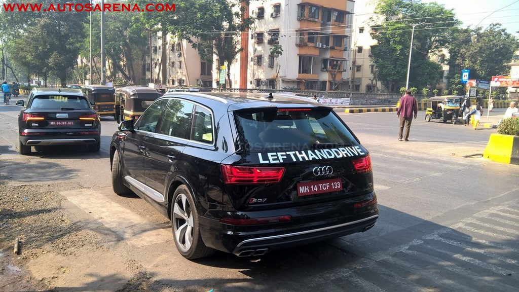 India Bound High Performance Audi Sq7 Spied In Mumbai