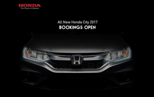 Honda Cars India Will Launch The Honda 2017 City Facelift On 14th February  2017.