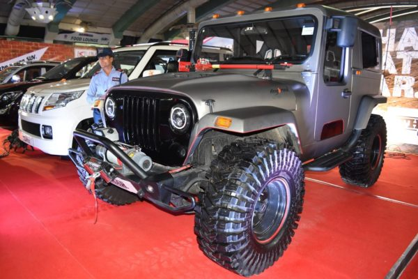 Mahindra Thar Daybreak Edition With Solid Roof Showcased