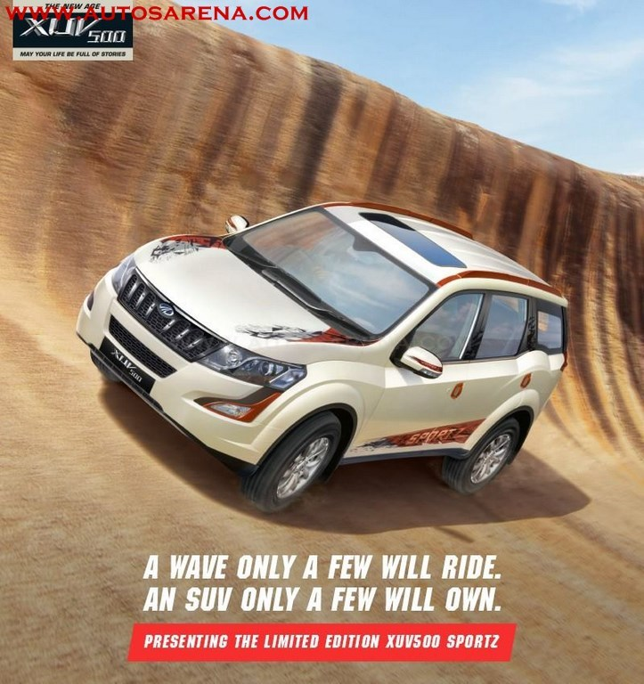 Mahindra Xuv500 Sportz Limited Edition Launched
