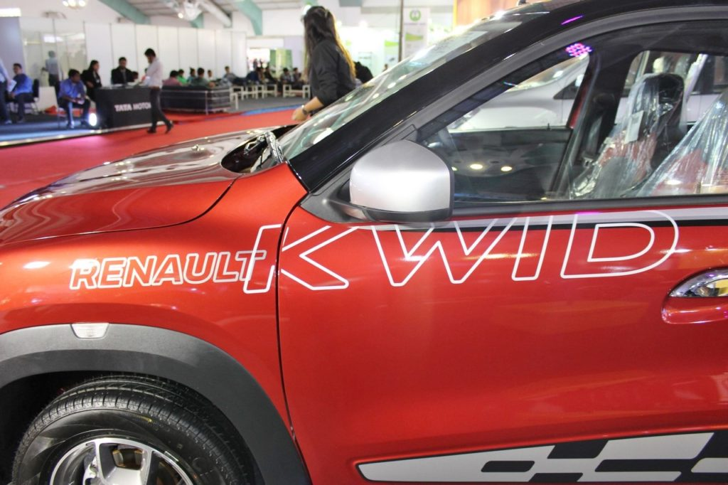 Accessorised Kwid Showcased At Surat Auto Expo