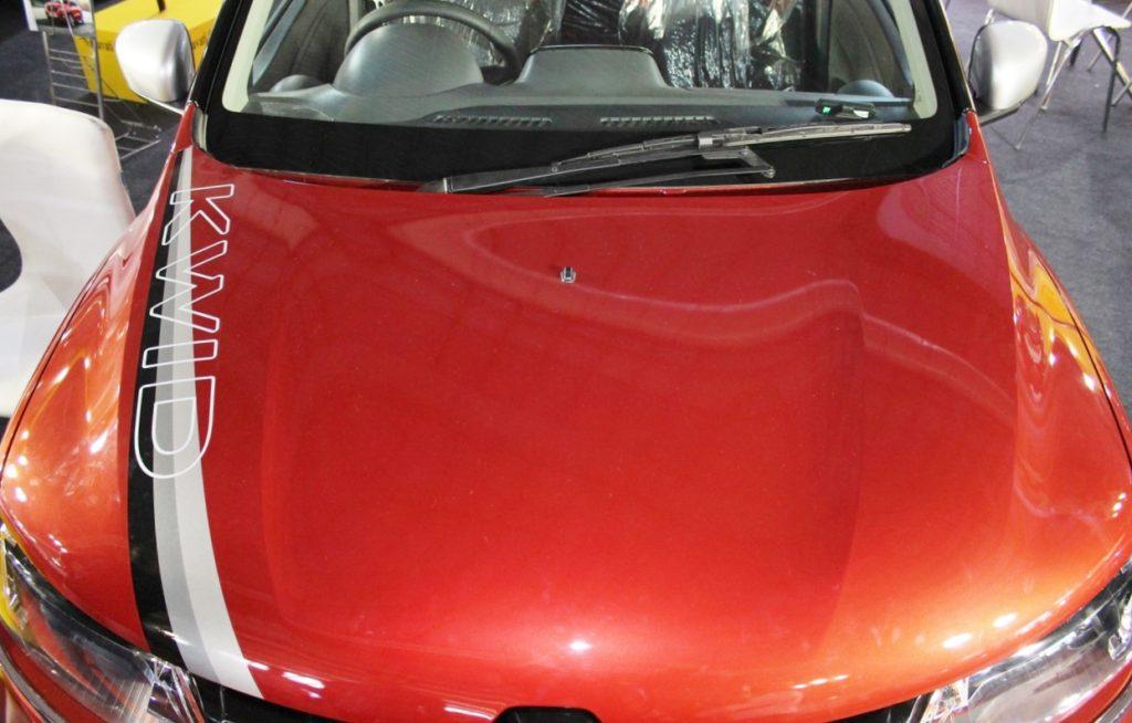 Accessorised Kwid Showcased At Surat Auto Expo