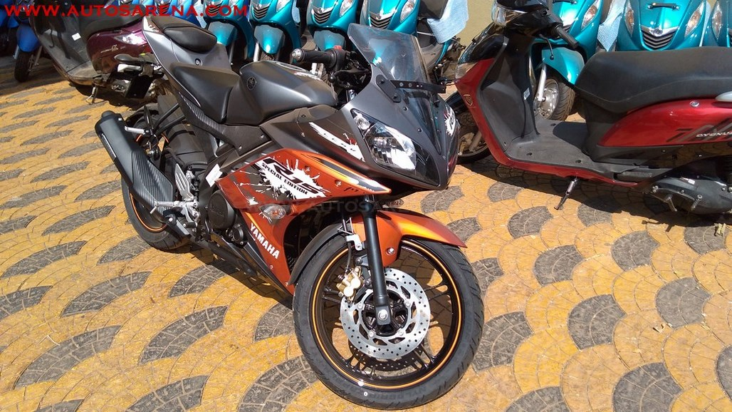 2017 Yamaha R15 V2 0 Limited Edition launched, images+