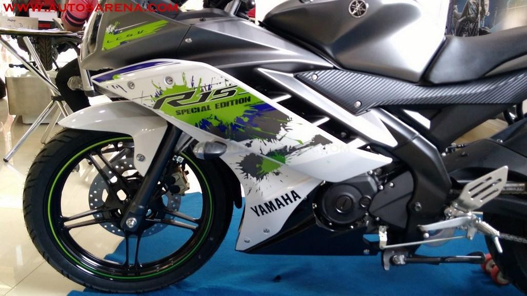 Yamaha R15 V2.0 Special Edition Sparky Green (3)