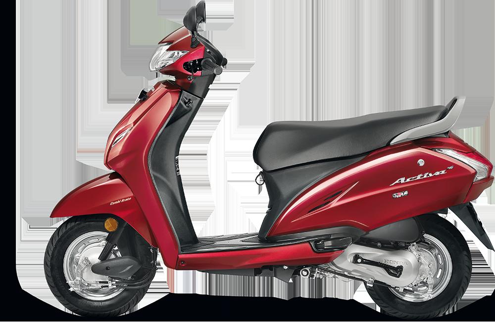 Honda Activa 4g Red