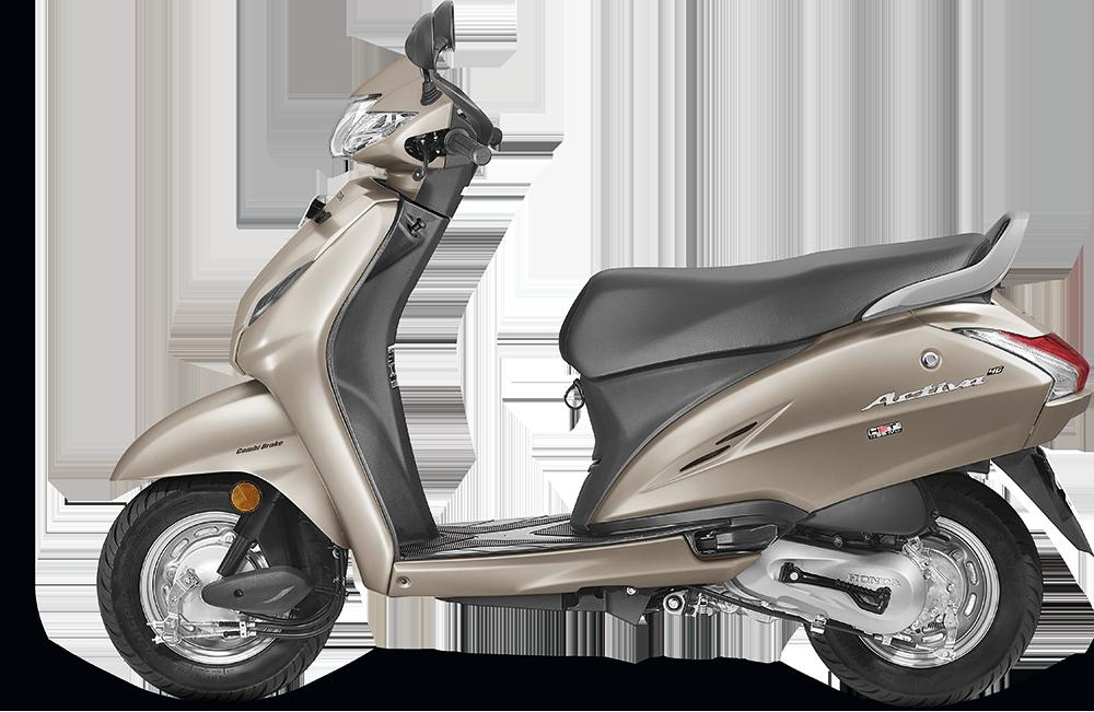 Honda Activa 4g Selene Silver