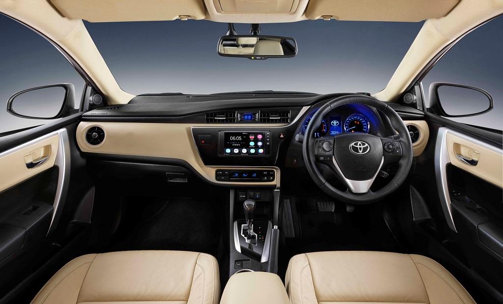 New Corolla Altis_Dashboard