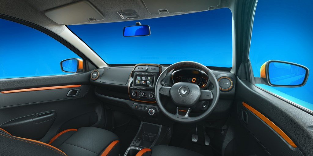 Renault Kwid Climber Dashboard
