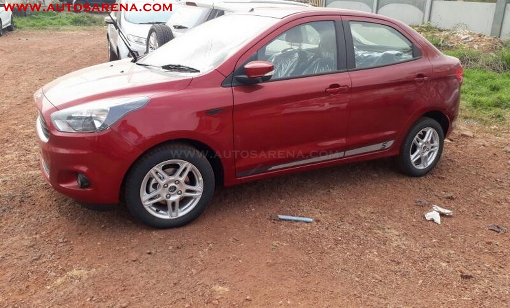 Scoop Ford Aspire Sport Spotted Launch Alongside Figo