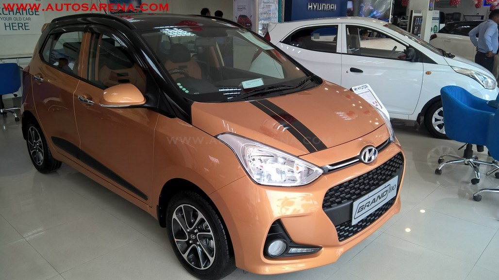 Hyundai Grand i10 Orange Dual Tone (1)