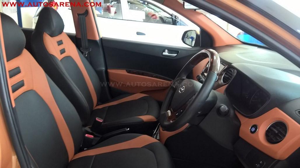 Hyundai Grand i10 Orange Dual Tone (15)