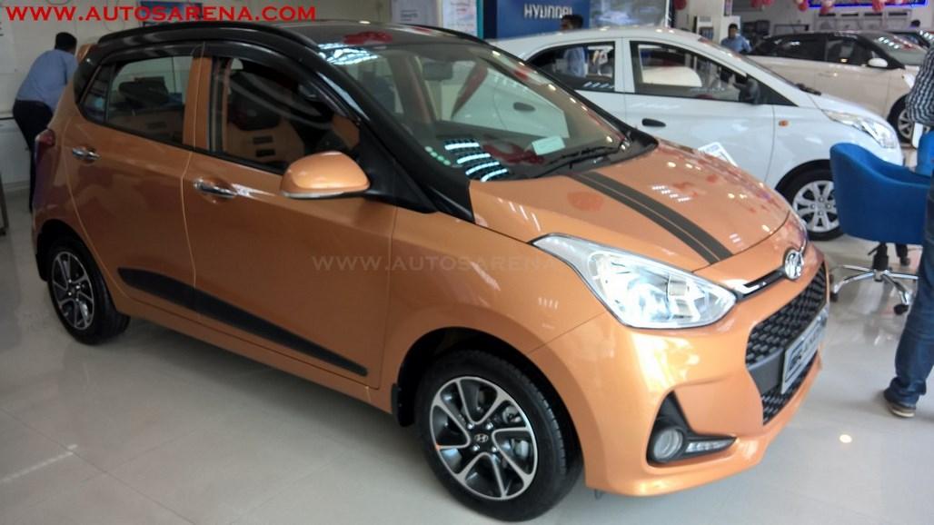 Hyundai Grand i10 Orange Dual Tone (3)
