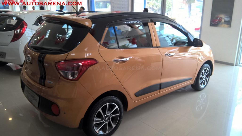 Hyundai Grand i10 Orange Dual Tone (5)