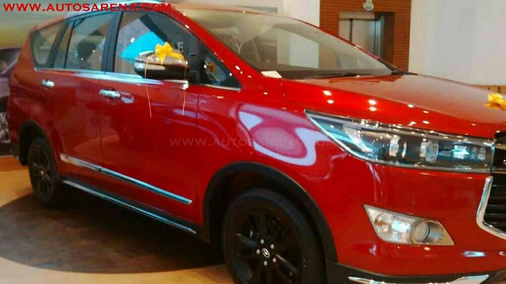 Toyota Innova Crysta Touring Sport Reaches Dealers Launch