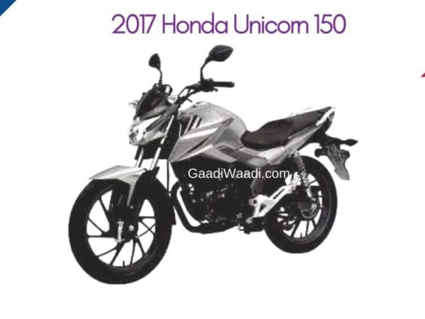 Honda To Launch New Unicorn 150 160 Files For Patent