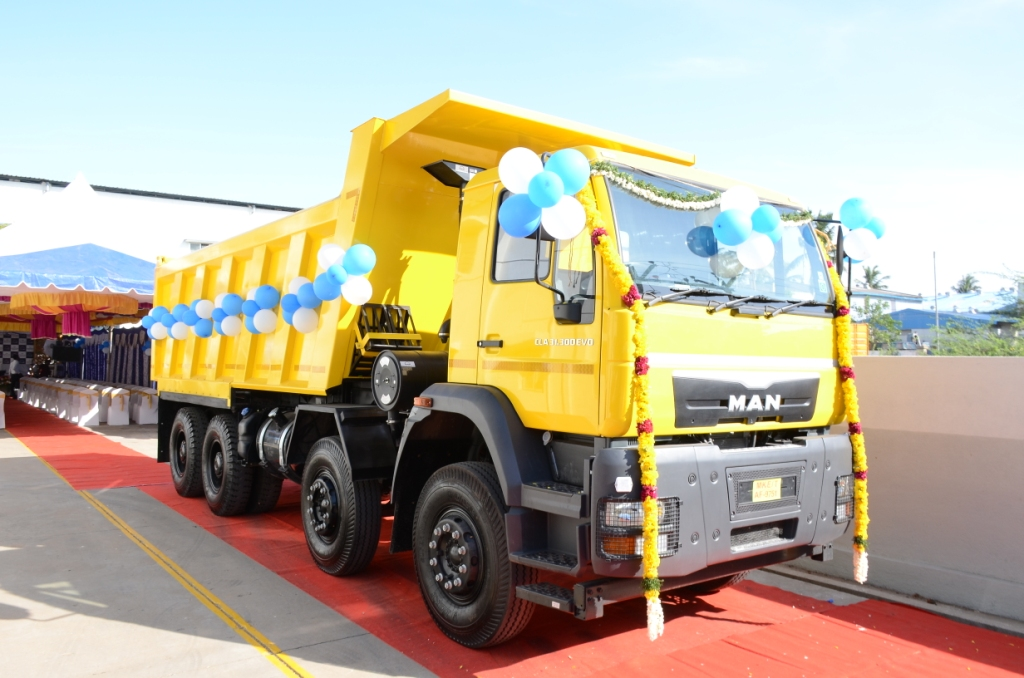 Man Trucks Inaugurates New Dealership In Chennai