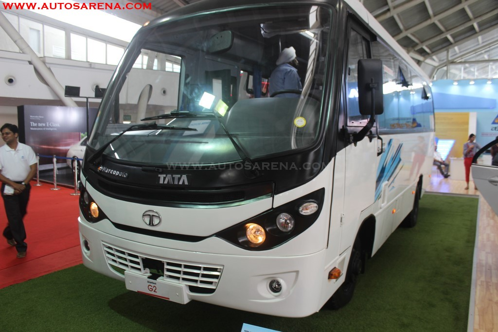 Tata Motors New Starbus G2 front side