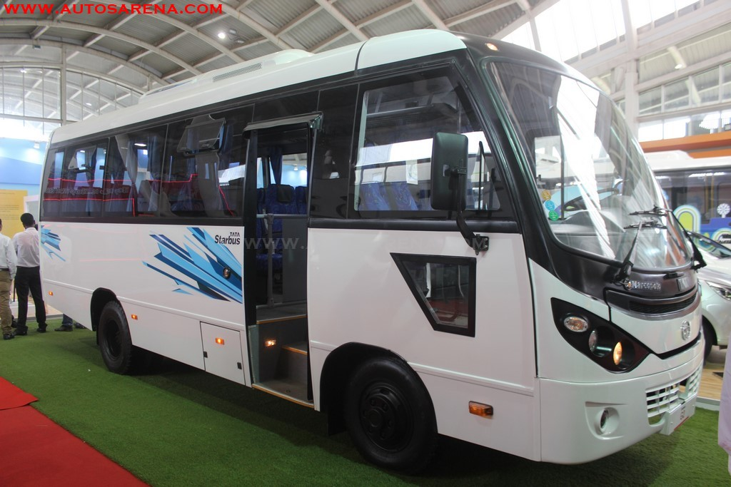 Tata Motors Showcases new Starbus G2 luxury bus at Prawaas