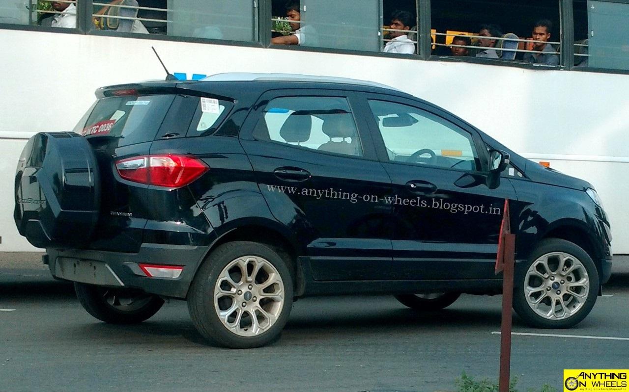 Ford Ecosport Facelift Side