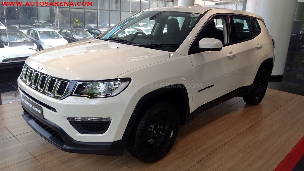 Jeep Compass Sport Base Variant Images