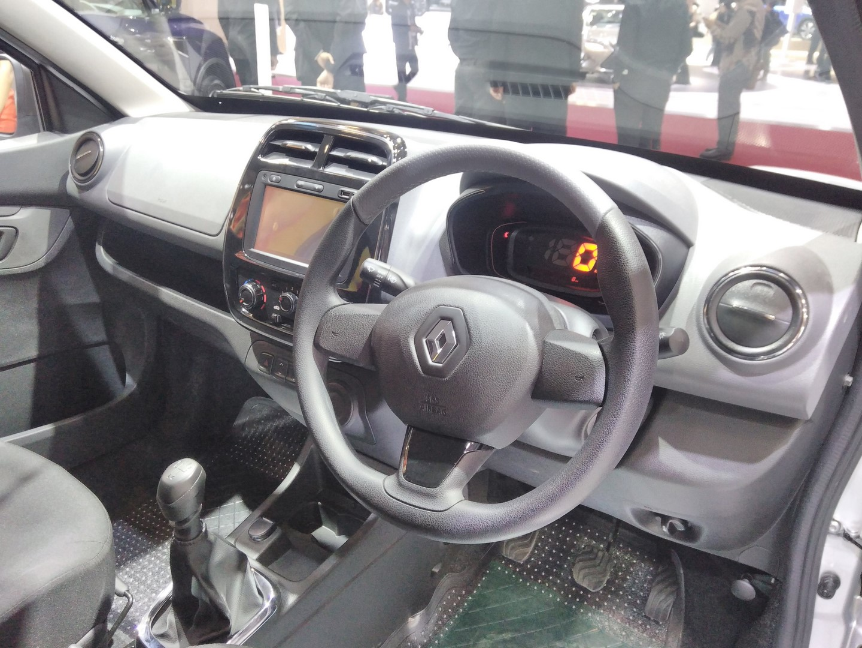Renault Kwid Extreme At Giias 2017 Dashboard