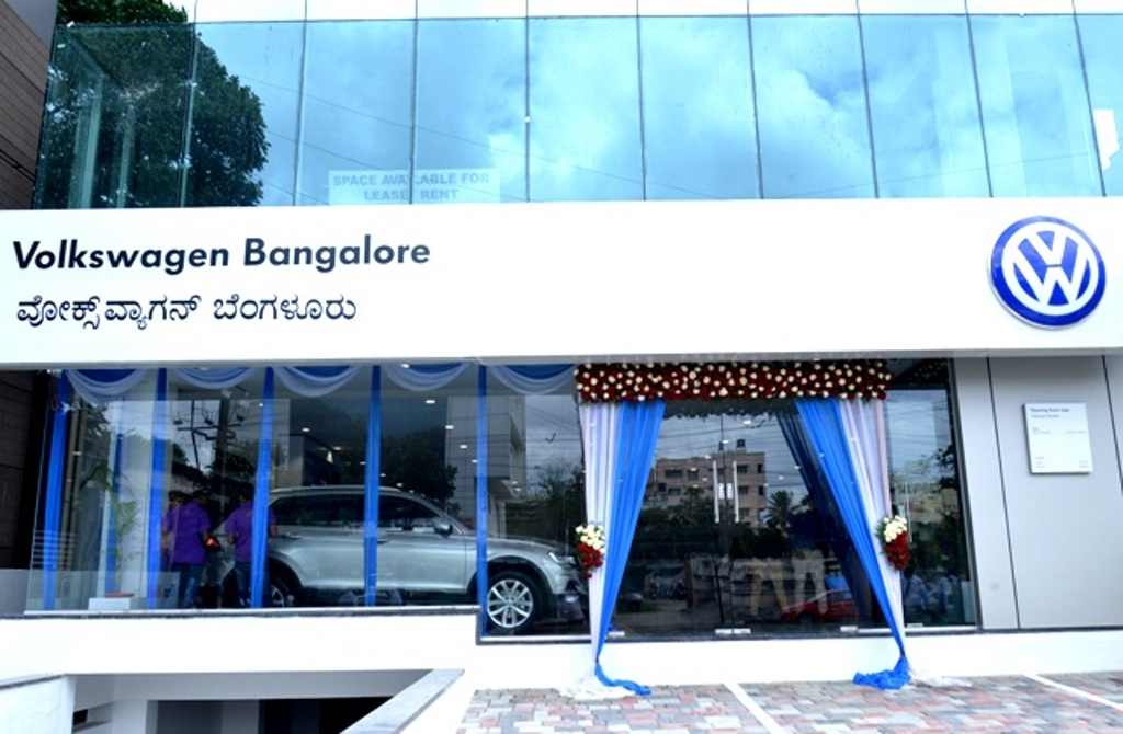 Volkswagen Bangalore Showroom
