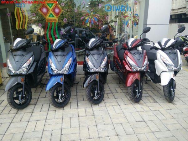 Honda Grazia Colors And Image Gallery
