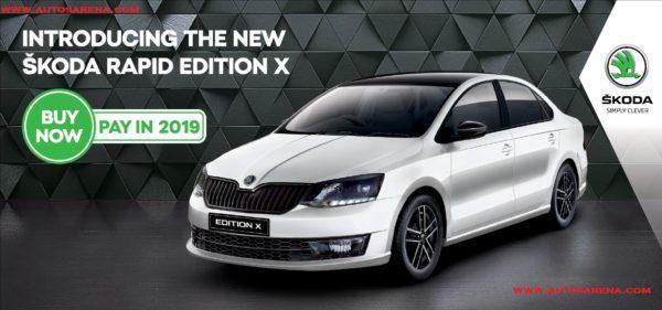 Skoda Rapid Monte Carlo Re Introduced As Rapid X Edition