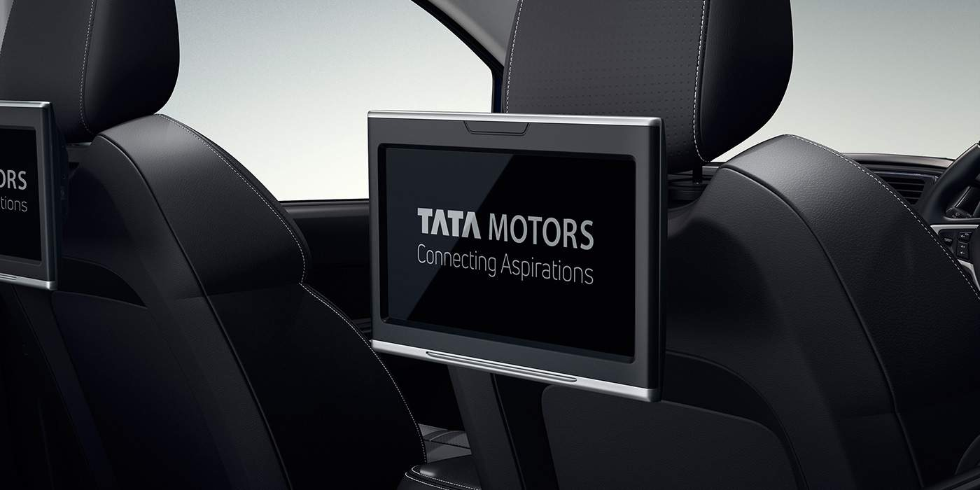 Tata HEXA DOWNTOWN Rear Seat Entertainment