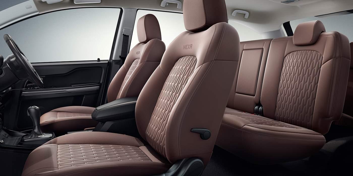 Tata HEXA DOWNTOWN Tan Seat_cover