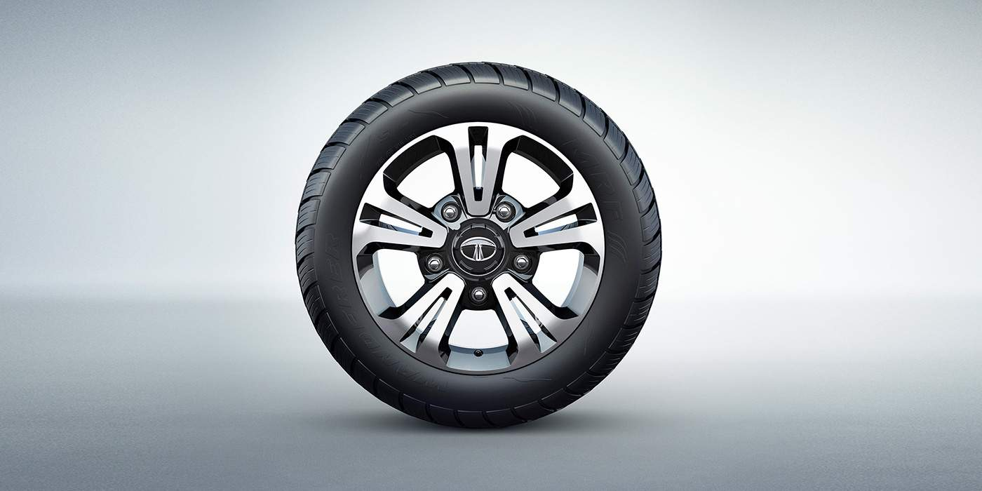 Tata HEXA DOWNTOWN alloy wheels