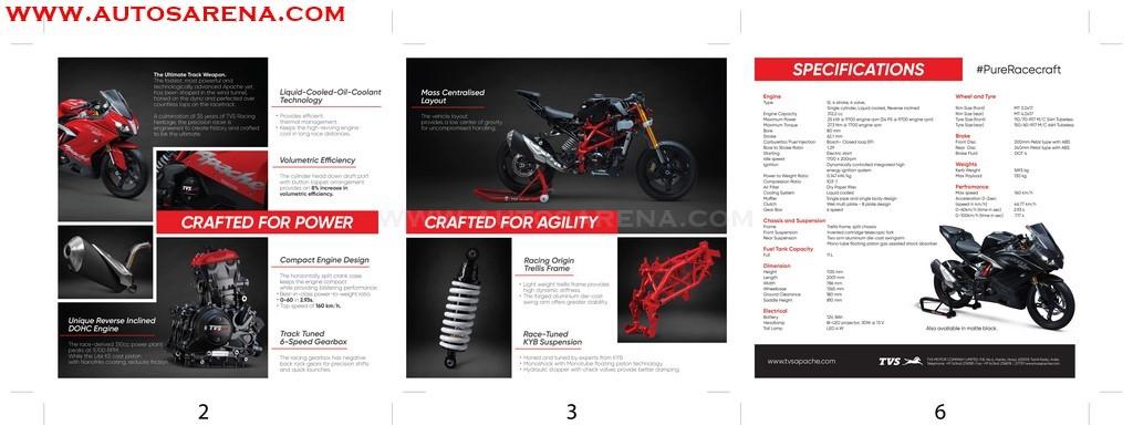 TVS Apache RR 310 Brochure (2)
