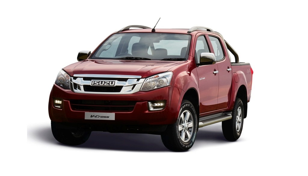 isuzu d max v cross 2018 edition launched in india. Black Bedroom Furniture Sets. Home Design Ideas