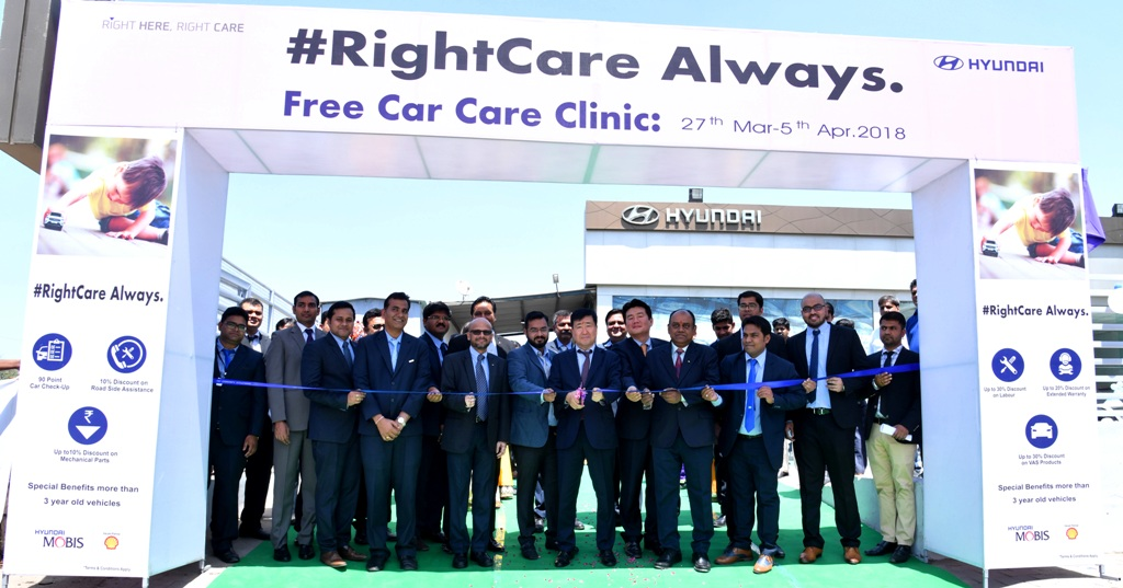 hyundai commences nationwide 26th free car care clinic