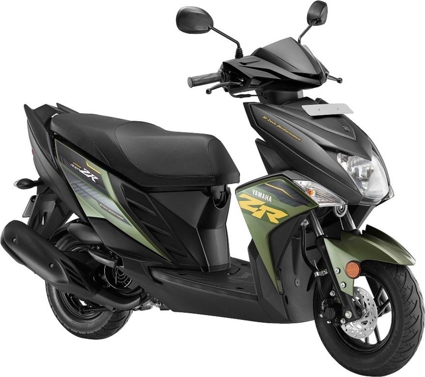 Yamaha_Ray ZR_Green